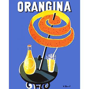 Orangina Poster Print von Bernard Villemot (16 x 20)