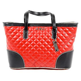 Andrew Charles Womens handtas rood Lilli