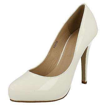 Zapatos de damas corte de Anne Michelle patente F9775