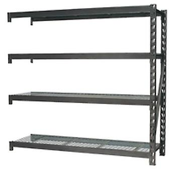 Sealey Ap6572E Heavy-Duty Racking Extension Pack 4 Mesh Shelves 800Kg Per Level