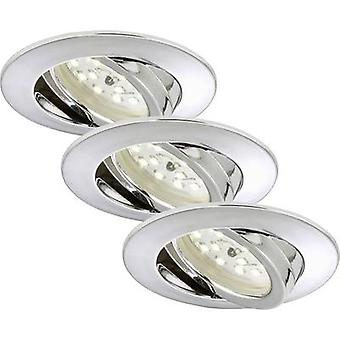 LED recessed light 3-piece set 15 W Warm white Briloner