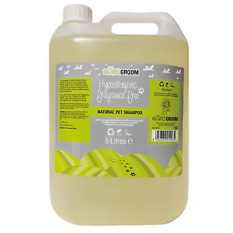 Natures Groom Hypoallergenic Fragrance Free Shampoo 5L
