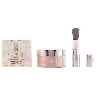 Clinique Blended Face Powder and Brush #02 - Transparency Ii 35 gr