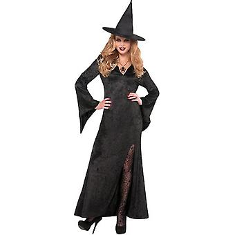 Amscan Costume Basic Witch Dress for Adult Standard (Babies and Children , Costumes)