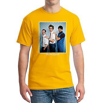 Napoleon Dynamite familie foto mænds guld Funny T-shirt