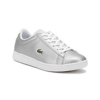 Lacoste Junior Light Grey Carnaby EVO 317 6 Trainers