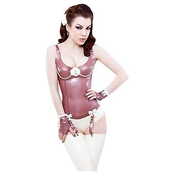 Westward Bound Fleur De Fleur Latex Rubber Corset