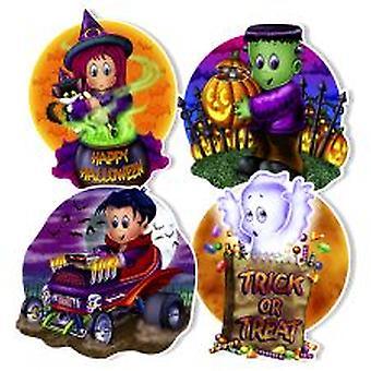 Niedliche Kreatur Halloween Ausschnitte