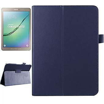 Caso di copertina blu scuro per scheda Samsung Galaxy S2 9,7 SM T810 T815N