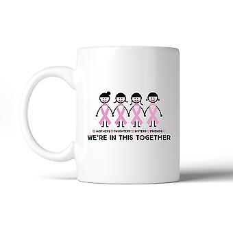 We're In This Together Cancer Awareness Mug Cancer Survivor Gifts