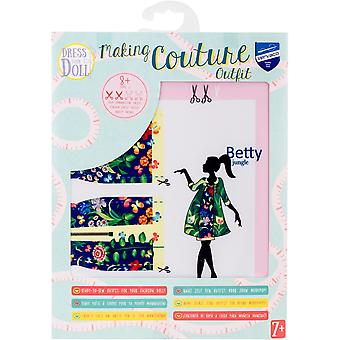 Dress Your Doll Making Couture Outfit Set-Betty Jungle