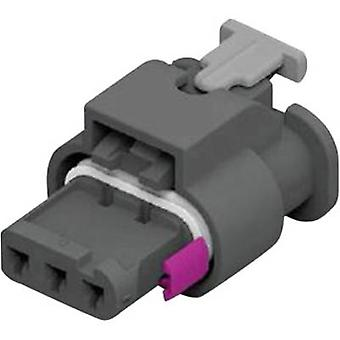 TE Connectivity Socket enclosure - cable MCON 1.2 Total number of pins 3 1-1718644-1 1 pc(s)