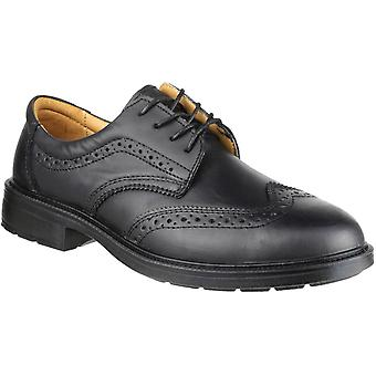 Amblers Safety Mens FS44 Leather Slip Resistant Brogues