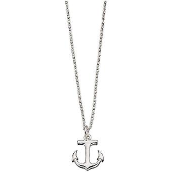 Beginnings Anchor Necklace - Silver