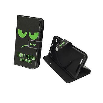 Mobiele telefoon geval zakje voor mobiele Xiaomi Redmi 3s raak niet mijn telefoon groen