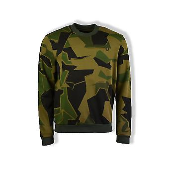 Fred Perry Arktis X Fred Perry Sweatshirt (Woodland Camo)