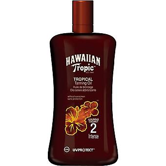 Hawaiian Tropic Tropical Suntan Oil spf 2 Intense 200 ml