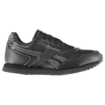 Reebok Kids Boys Classic Glide Junior Trainers Lace Up Ortholite Everyday Shoes