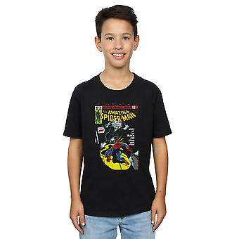 Marvel Universe Boys Spider-Man Black Cat Cover T-Shirt