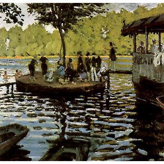 La Grenouillere, Claude Monet, 50x50cm