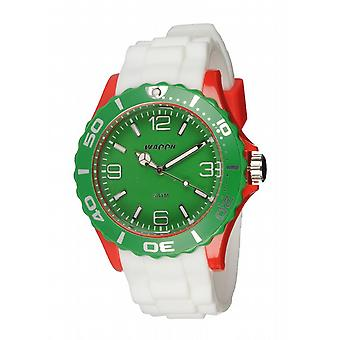 Waooh - Watch MC42 Tricolore red & green