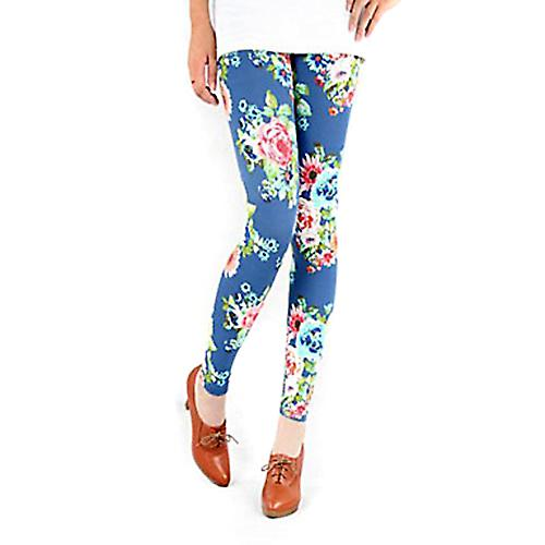 Waooh - Fashion - Flower Pattern Legging