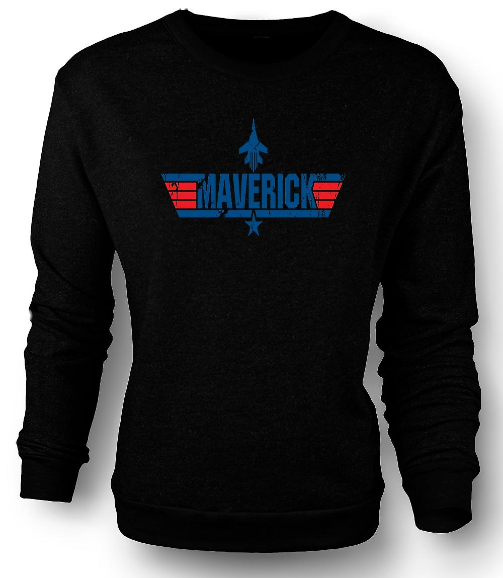 Mens Sweatshirt Top Gun Maverick USAF - film