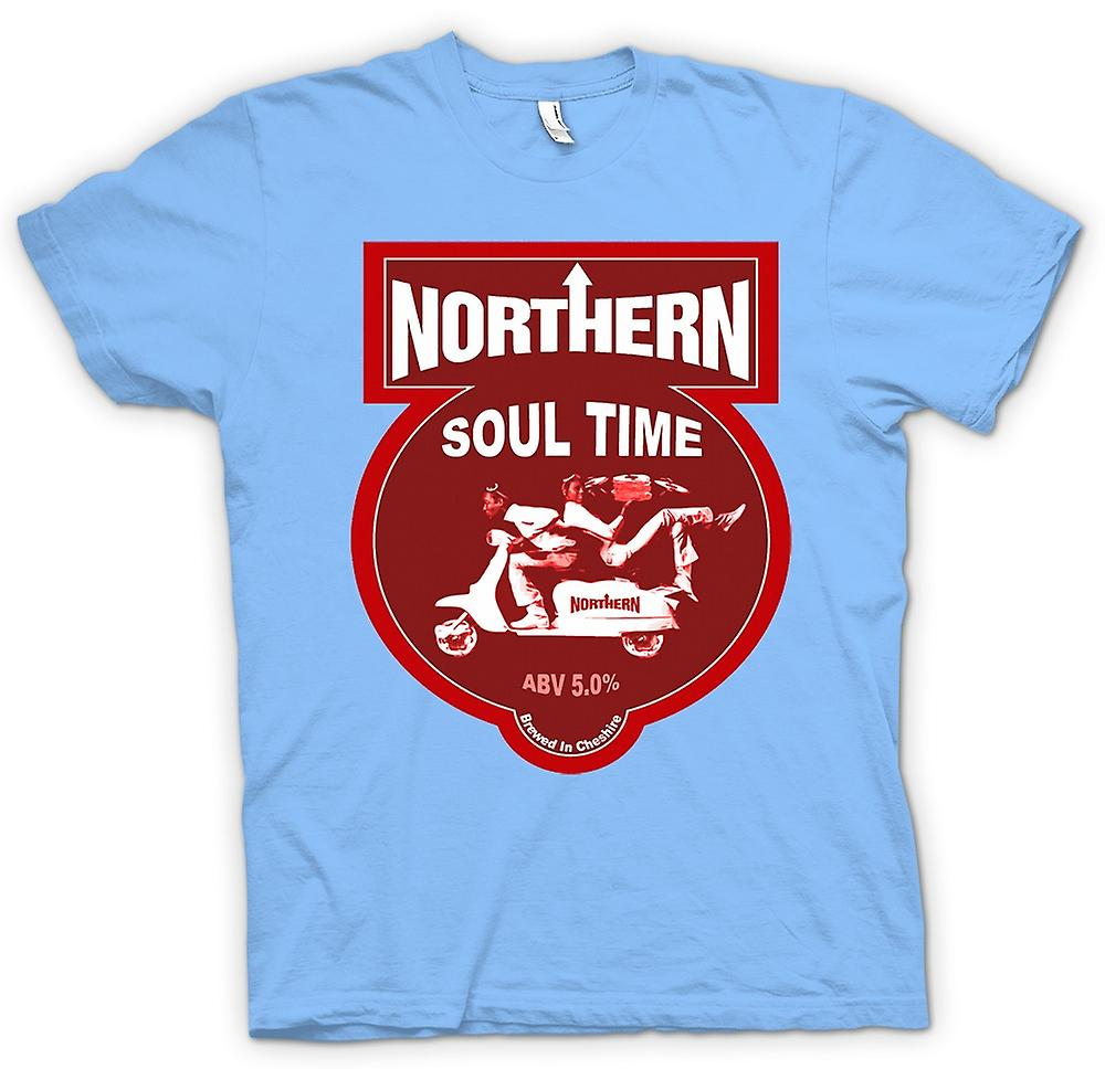 Mens t-shirt-Northern Soul Scooter Vespa