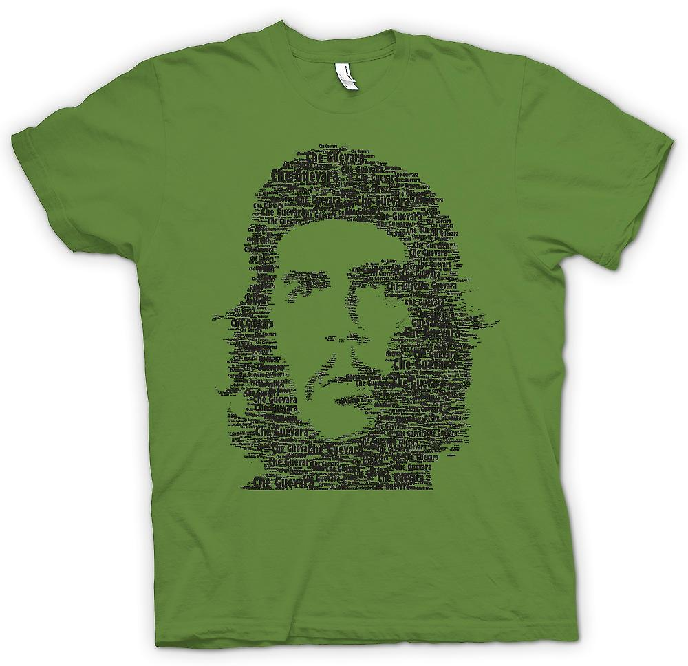 T-shirt homme - Che Guevara Word Cloud - Cool