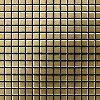 Mozaïek van massief metaal Titaan ALLOY Mosaic-Ti-GB