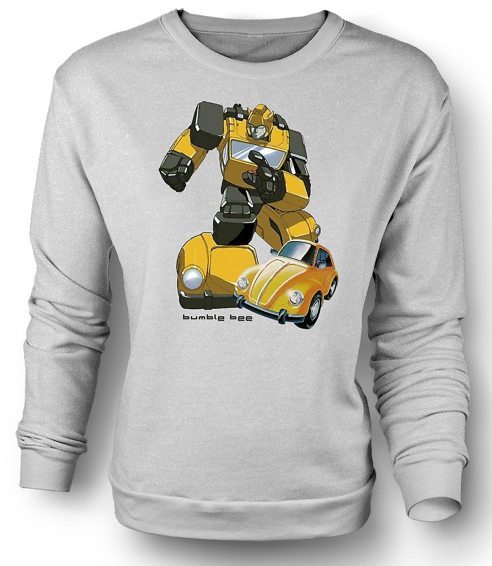 Mens Sweatshirt Transformers - Bumblebee - Comic