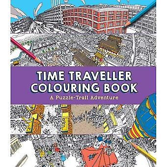 Libro da colorare tempo dei viaggiatori