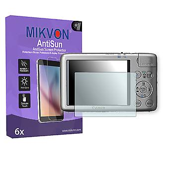 Canon IXY 400F Screen Protector - Mikvon AntiSun (Retail Package with accessories)