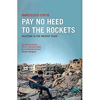 Pay No Heed to the Rockets: Palestine in the Present Tense