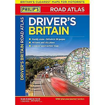 Philips förarens Atlas Storbritannien: pocketbok