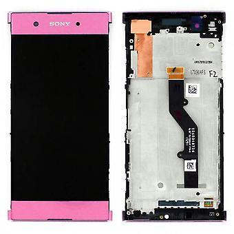 Sony дисплей LCD полный для Xperia XA1 плюс 78PB6100020 розовый запасные части новых