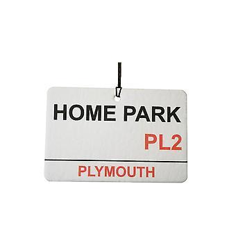 Plymouth Argyle / Home Park Street Sign Car Air Freshener