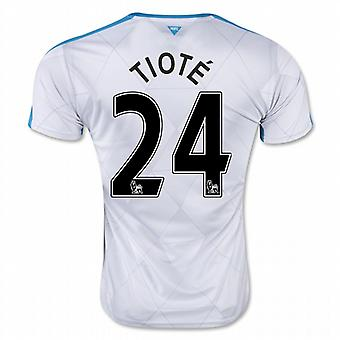 2015-16 Newcastle auswärts Shirt (Tiote 24) - Kids