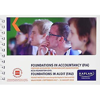 FAU Foundations in Audit (INT&UK) - Pocket Notes by Kaplan Publishing