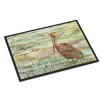 Carolines Treasures  SC2011JMAT Brown Pelican Sunset Indoor or Outdoor Mat 24x36