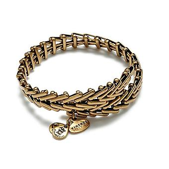 Alex en Ani Gypsy 66 wrap goud Bangle VW112RG