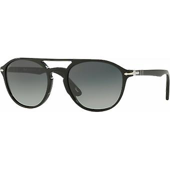 Persol 3170S wide black grey gradient