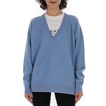 Givenchy lyseblå uld