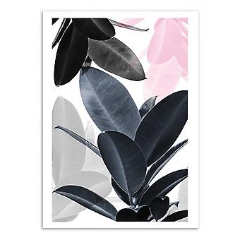 Art-poster-Leaf Play-Sisi och SEB 50 x 70 cm