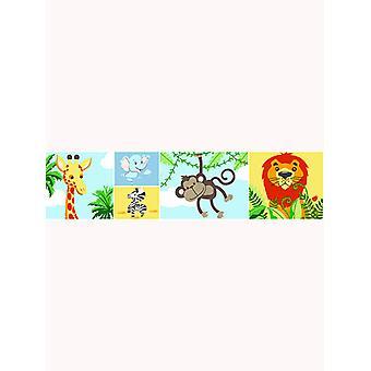 Jungle-Tastic Wallpaper Border - Price Right Home A12901
