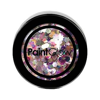 PaintGlow Chunky UV Holographic Glitter Carnival Chaos
