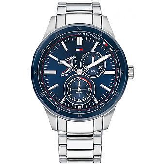 Tommy Hilfiger | Men's Austin | Stainless Steel Bracelet | Blue Dial | 1791640 Watch