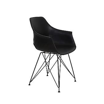 Light & Living Dining Chair 63x57x82 Cm SERBIN Black