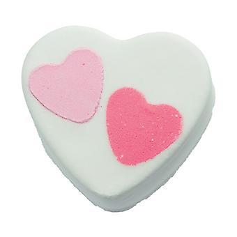 Bombe Kosmetik Bath Blaster-Herz 2 Herz