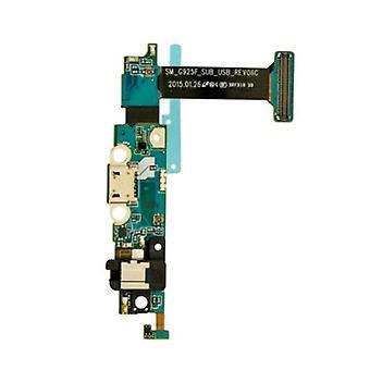 Echte Oplaadpoort Flex-Samsung Galaxy S6 Edge | iParts4u